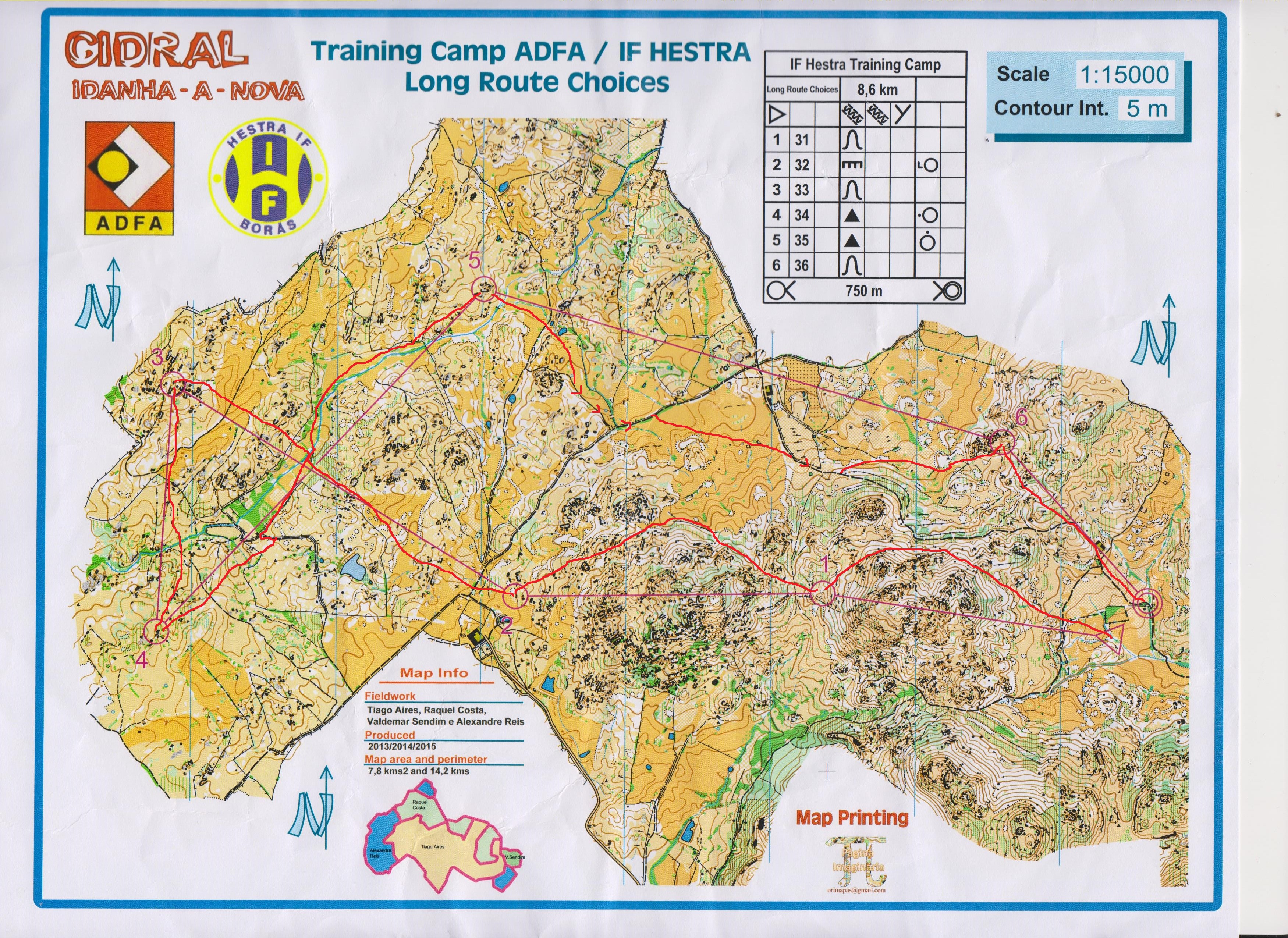 Portugal 2016 | Long Route Choices (2016-02-10)